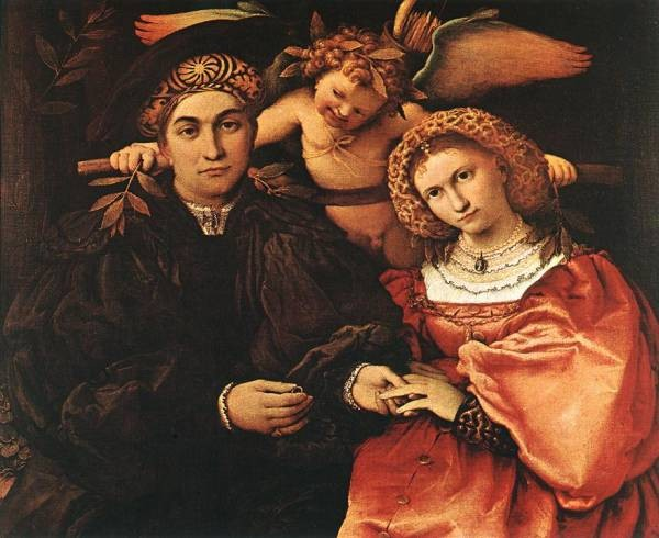 Messer Marsilio and his Wife 1523